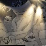 Граффити в Лётной гавани
