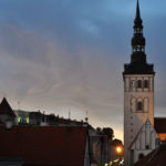 Вечерний Старый Таллинн