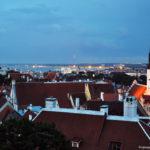Крыши вечернего Таллинна