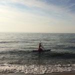 SUP-сёрфинг