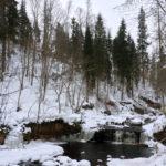 Водопад в Любытнском районе, Новгородская область