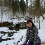 У водопада на реке Прикша