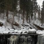 Водопад на реке Прикша