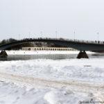 Горбатый мостик в Великом Новгороде