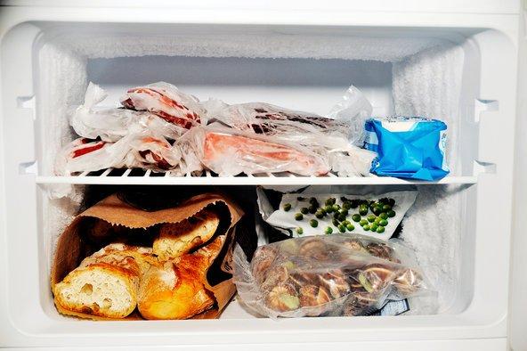 замораживание продуктов