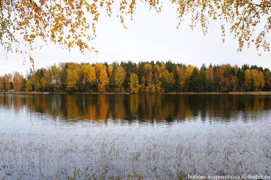Осенние краски на острове