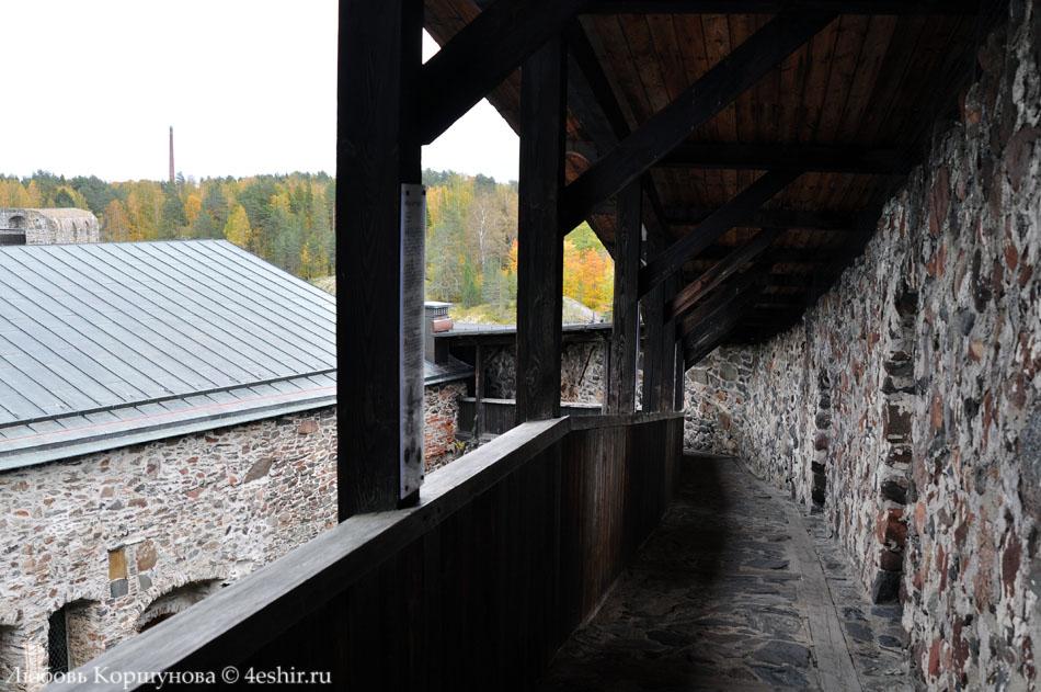 В крепости Олавинлинна