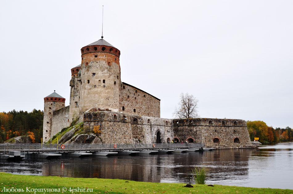 Крепость Олавинлинна (Замок Олафсборг)