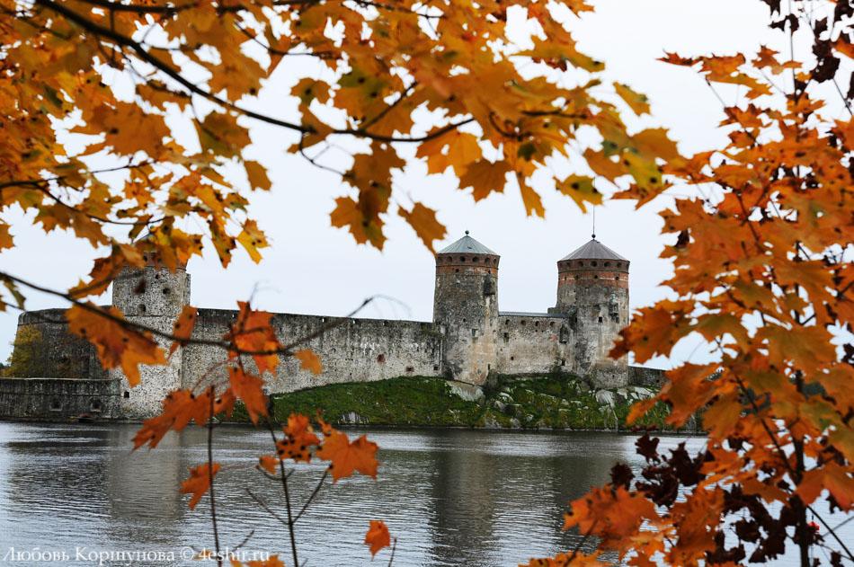 Осенний замок Олафсборг