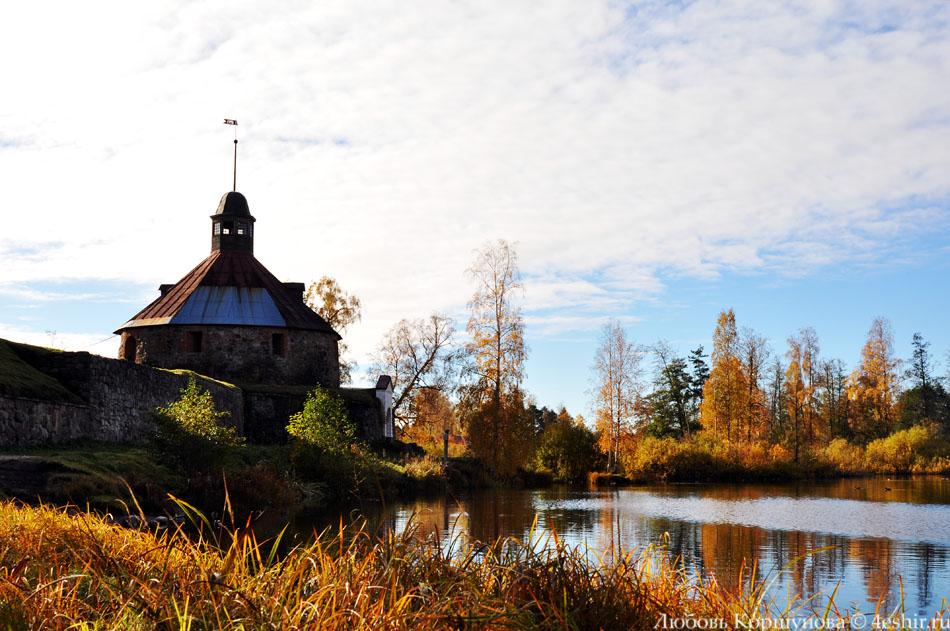 Осенняя крепость Корела