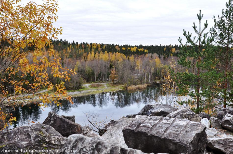 Светлое озеро в Рускеале