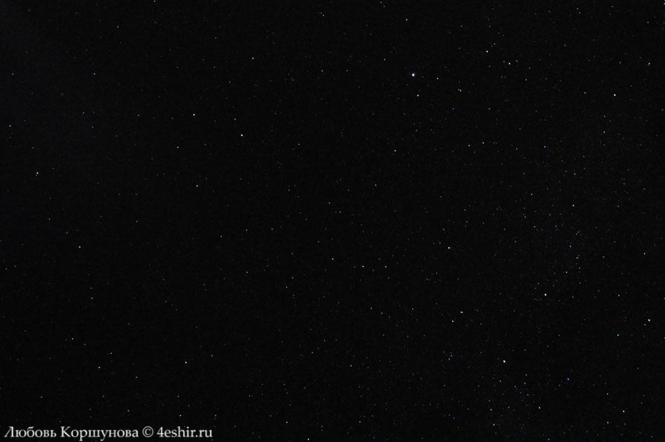 Звёздное небо Карелии, Млечный путь